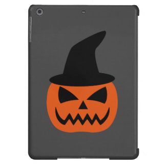 Jack-O-Lantern with witch hat iPad Air Case