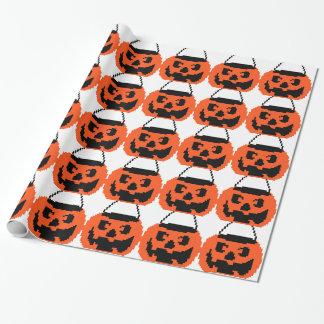 Jack o Lantern Wrapping Paper