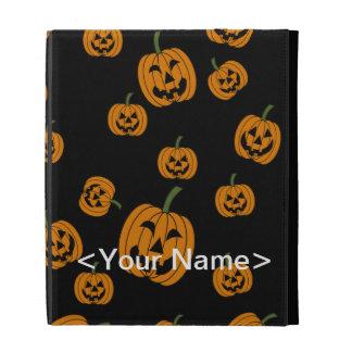 Jack O' Lanterns background iPad Case