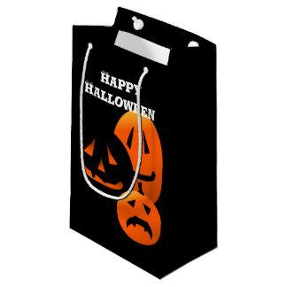 Jack-o-Lanterns Happy Halloween SGB Small Gift Bag
