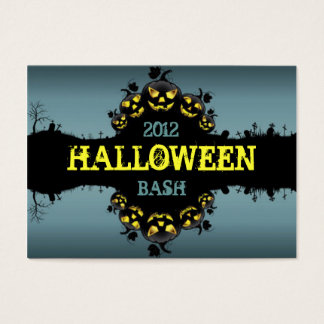 Jack-O-Lanterns Party Promotional Cards