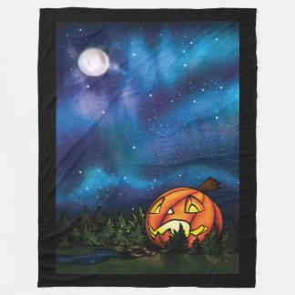 Jack-o-Moon Fleece Blanket