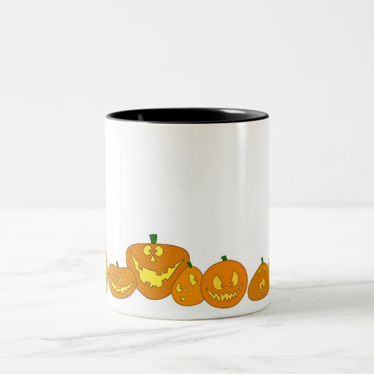 Jack-O-Mug Two-Tone Coffee Mug