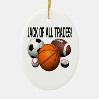 Jack Of All Trades Christmas Ornament