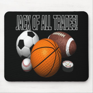 Jack Of All Trades Mouse Pad