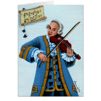 """""""Jack of Clubs"""" Greeting Card"""
