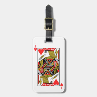 Jack of Hearts Luggage Tag