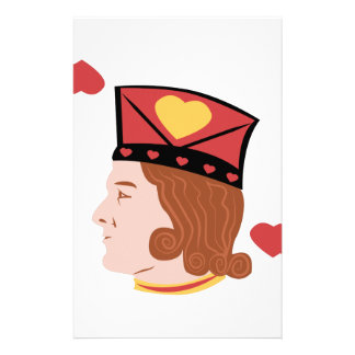 Jack Of Hearts Personalized Stationery