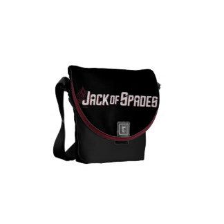 Jack of Spades Messenger Bag