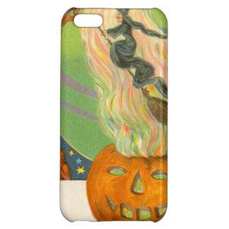 Jack O'Lantern Pumpkin Witch Fire Demon Case For iPhone 5C