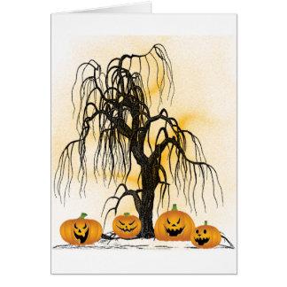 Jack O'Lanterns Greeting Card