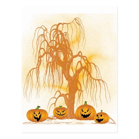 Jack O'Lanterns Postcard