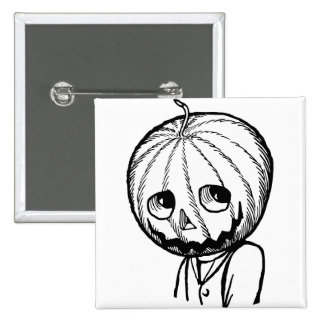 Jack Pumpkinhead 15 Cm Square Badge