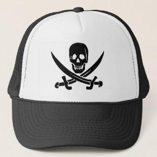 Jack Rackham-Black Trucker Hat
