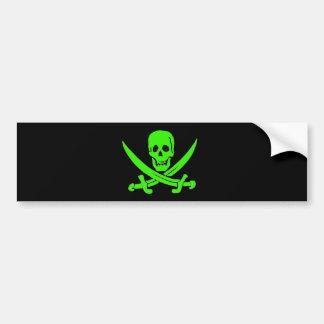 Jack Rackham-Green Bumper Stickers