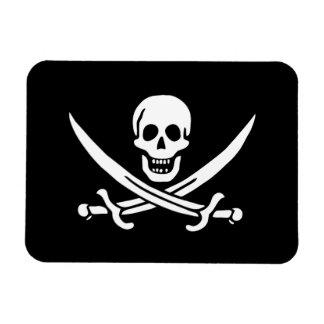 Jack Rackham Jolly Roger Flag Pirate Vinyl Magnets
