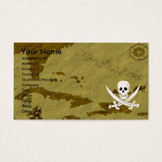 Jack Rackham Map #12 Business Card