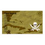 Jack Rackham Map #12 Business Card Templates