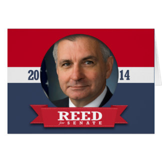 JACK REED CAMPAIGN GREETING CARD