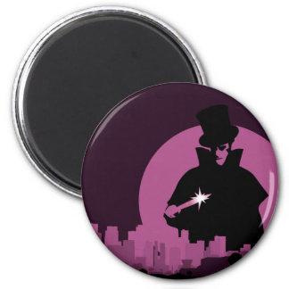 Jack Ripper 6 Cm Round Magnet