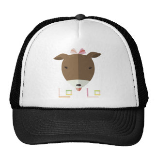 Jack russel terrier Lolo-origami hat