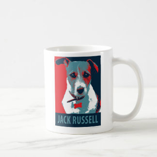 Jack Russel Terrier Political Hope Parody Mug