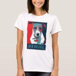 Jack Russel Terrier Political Hope Parody T-Shirt