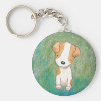 Jack Russel Terrier Puppy Dog Key chain