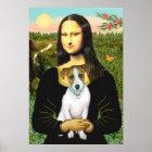 Jack Russell 10 - Mona Lisa Poster