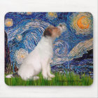 Jack Russell 5 - Starry Night Mouse Mat