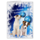 Jack Russell Christmas Wishes - Customise It! #2 Card