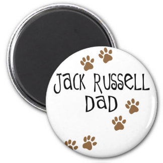 Jack Russell Dad Magnet