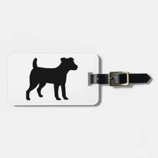 Jack Russell Dog Luggage Tag
