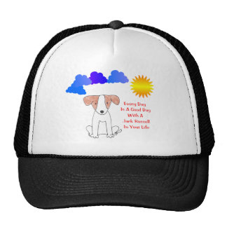 Jack Russell Every Day Is A Good Day Hat