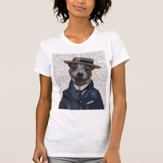 Jack Russell in Boater 2 T-Shirt