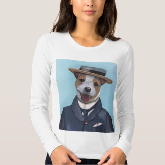 Jack Russell in Boater Tshirts