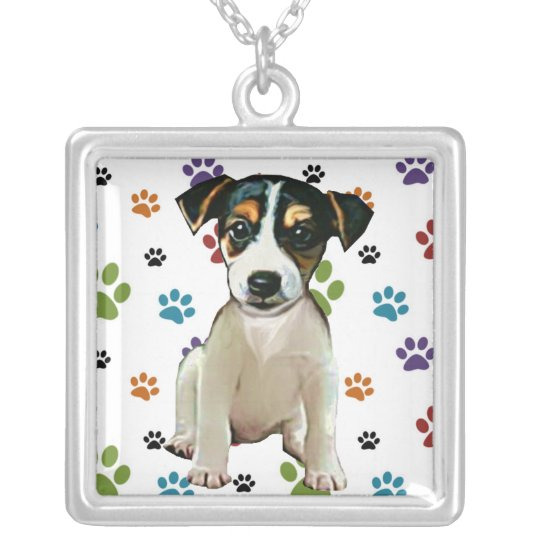 Jack Russell Puppy Pendant