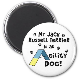 Jack Russell Terrier Agility Dog Magnet