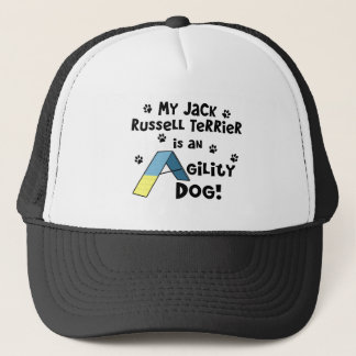 Jack Russell Terrier Agility Dog Trucker Hat