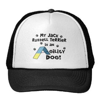 Jack Russell Terrier Agility Dog Trucker Hats