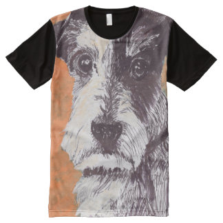 Jack Russell Terrier All-Over Print T-Shirt