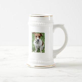 Jack Russell Terrier Beer Stein