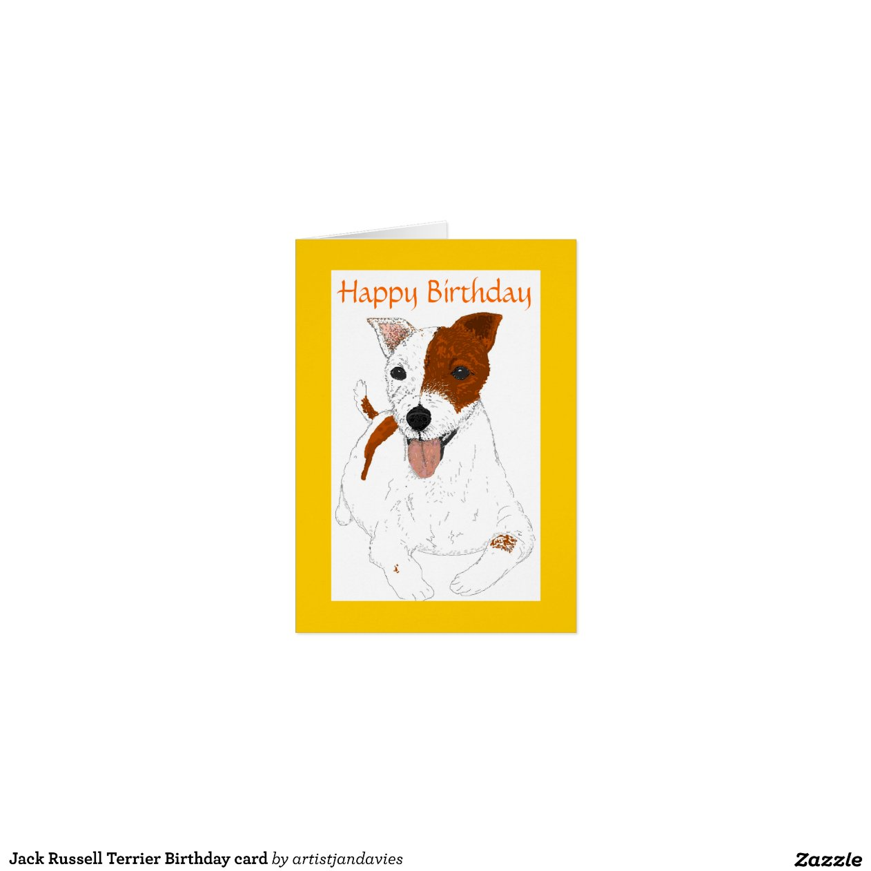 Snap Jack Russell Terrier Cards Photo Card Templates Invitations