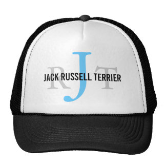Jack Russell Terrier Breed Monogram Hats