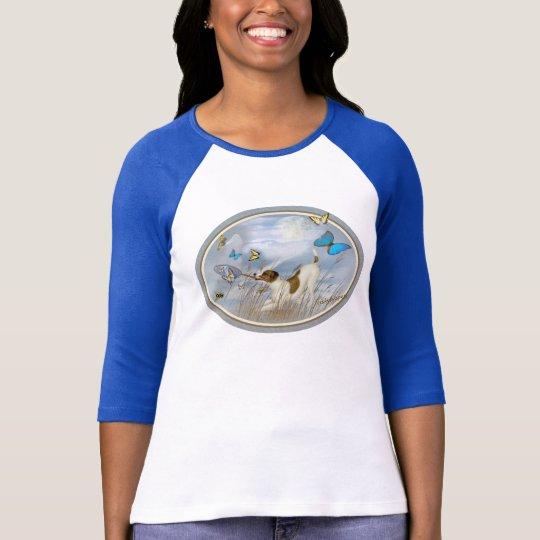 Jack Russell Terrier Butterfly Catcher Apparel T-Shirt