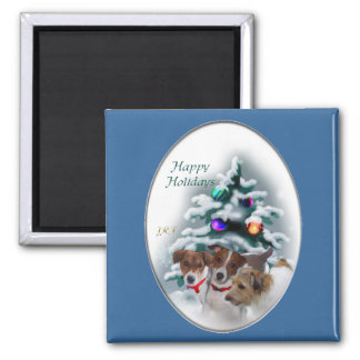 Jack Russell Terrier Christmas Gifts Refrigerator Magnets