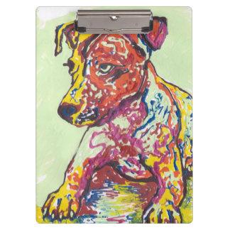 Jack Russell Terrier Clipboard