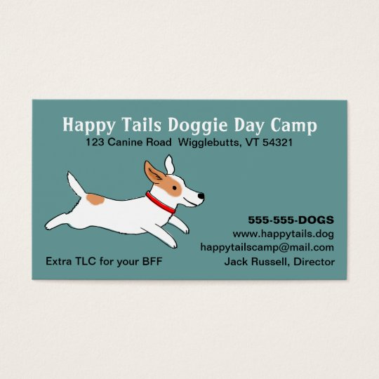 Jack Russell Terrier - Cute Dog Cartoon -