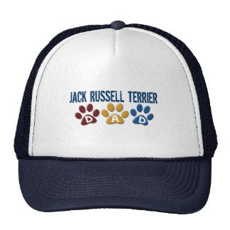 Jack Russell Terrier Dad Paw Print 1 Cap