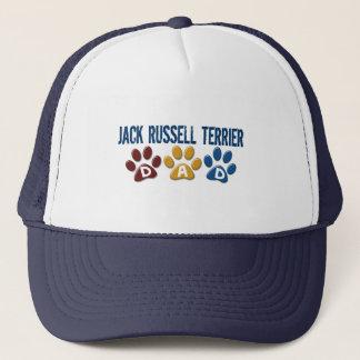 Jack Russell Terrier Dad Paw Print 1 Trucker Hat